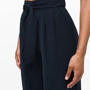 Lululemon Women's Noir Pant TRNV True Navy Blue